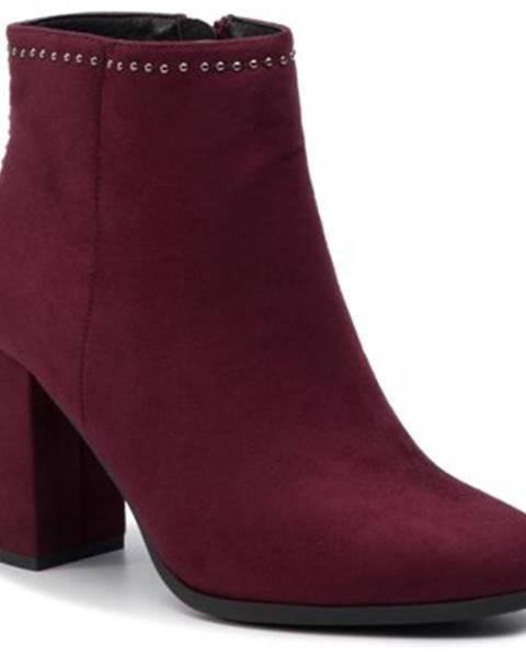 Bordové topánky Jenny Fairy