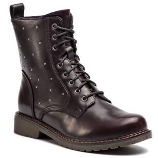 Šnurovacia obuv Jenny Fairy WYL1621-1 koža ekologická