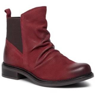 Členkové topánky Lasocki ARC-TULIA-18 Materiał tekstylny,koža(useň) lícová