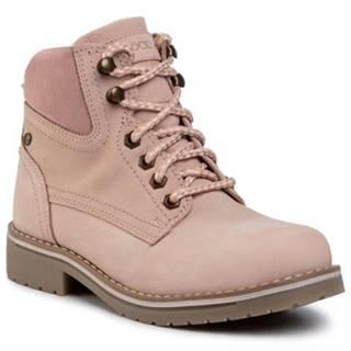 Šnurovacia obuv Lasocki WI21-218134 nubuk,koža(useň) zamšová
