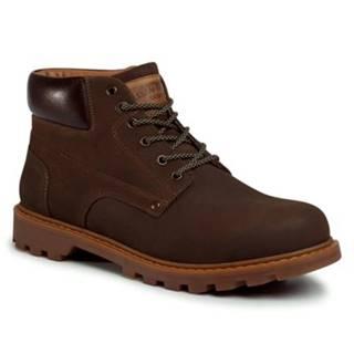 Šnurovacia obuv Lasocki for men MI07-A984-A814-03 nubuk,koža(useň) lícová