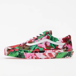 KENZO x Vans OG Old Skool LX Floral Red/ True White