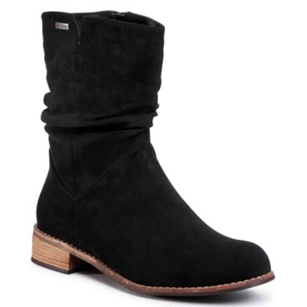 Jenny Fairy Členkové topánky Jenny Fairy WS14087-02 Materiał tekstylny