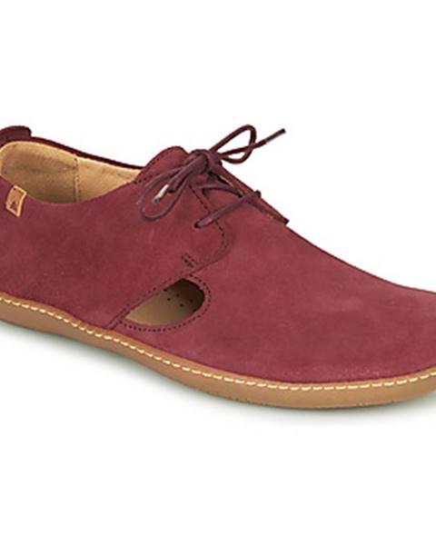 Fialové topánky El Naturalista