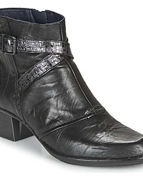 Čierne topánky Dorking