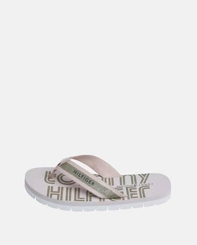 Ružové papuče Tommy Hilfiger
