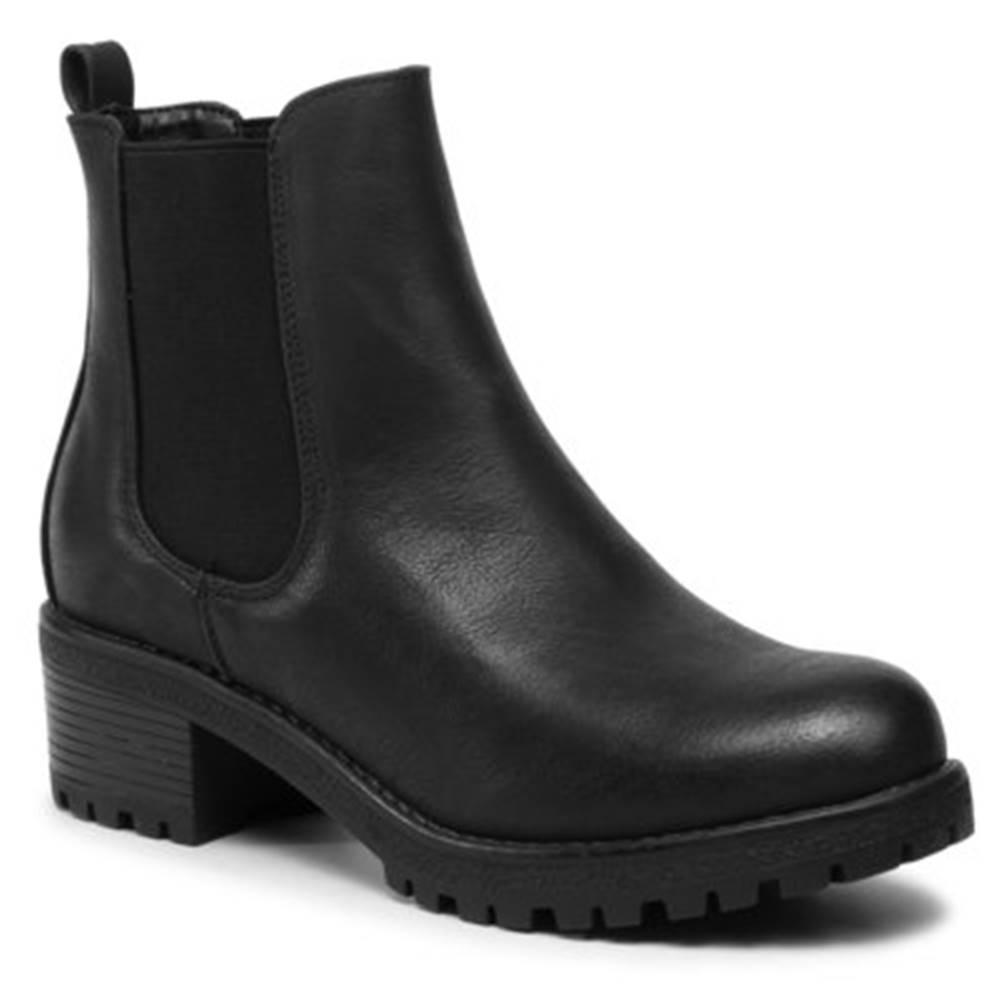 Jenny Fairy Členkové topánky Jenny Fairy WS1128-2 Materiał tekstylny,koža ekologická