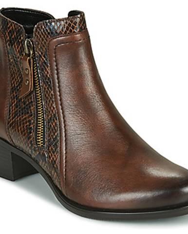 Hnedé topánky Remonte Dorndorf