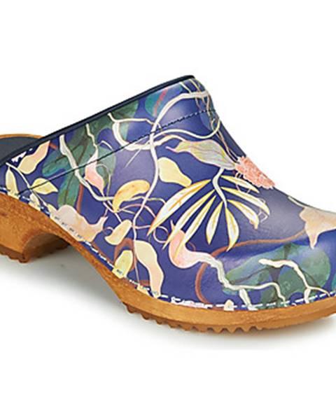 Modré topánky Sanita