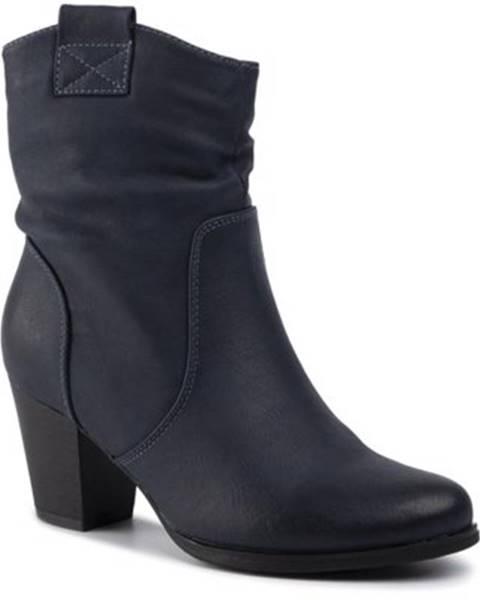 Tmavomodré topánky Clara Barson