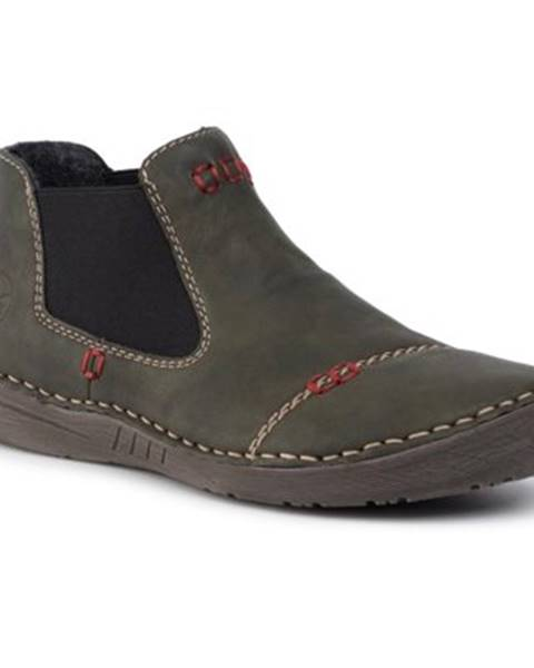 Khaki topánky Rieker
