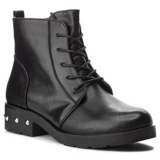 Šnurovacia obuv Jenny Fairy WS2716-01 koža ekologická