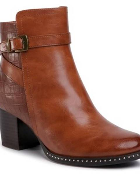 Hnedé topánky Clara Barson