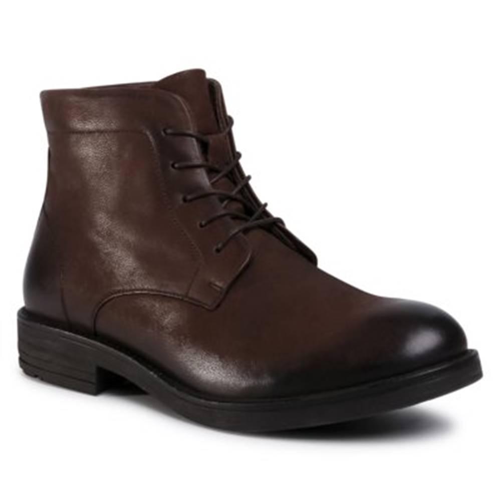 Lasocki for men Šnurovacia obuv Lasocki for men MI08-C778-586-01 Prírodná koža(useň) - Nubuk